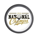 2010 National Champs Wall Clock