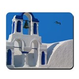 Santorini Greece Mousepad