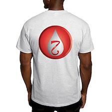 Back Design SCA Office Badges T-Shirt
