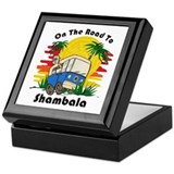 Road To Shambala Keepsake Box