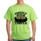 PROTECT the TEMPLE Green T-Shirt