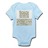 Irish Princess (Fancy Font) Infant Creeper