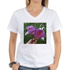 Women's V-Neck Lotus T-Shirt