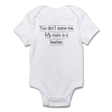 """You don't scare me..."" Onesie"