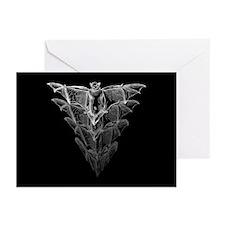 Bat Black Greeting Cards (Pk of 10)
