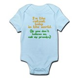 grandpa loves me Infant Bodysuit