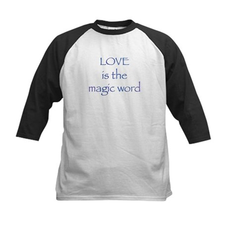 Magic Word Kids Baseball Jersey
