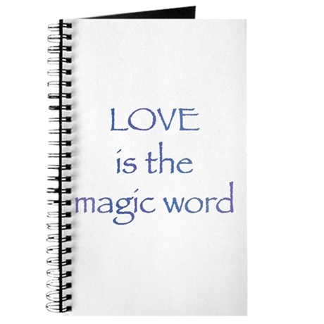 Magic Word Journal