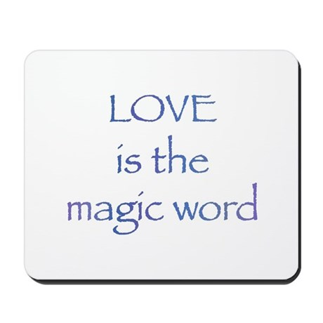 Magic Word Mousepad
