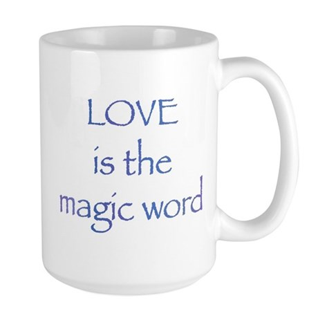Magic Word Large Coffee Mug
