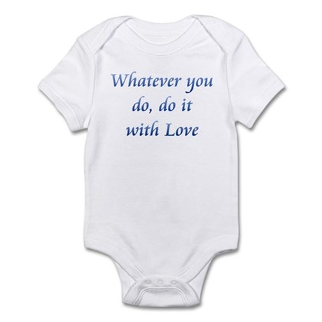 Do It With Love Infant Bodysuit