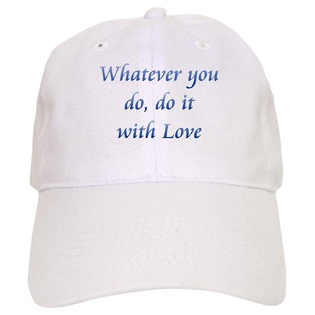 Do It With Love Baseball Cap