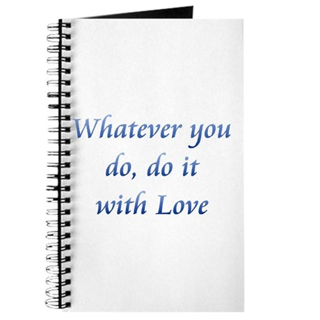 Do It With Love Journal