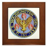 USS WARRINGTON Framed Tile