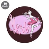 "Merde v.2 3.5"" Button (10 pack)"