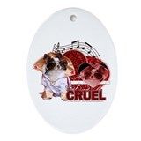 Don't Be Cruel - Chihuahua - Ornament (Oval)