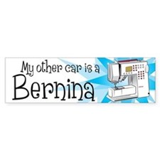 Cute Sewing grandma Bumper Sticker