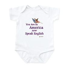 Now Speak English Infant Bodysuit