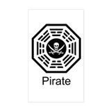 Dharma Pirate Decal