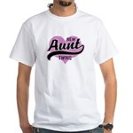 New Aunt Twins White T-Shirt