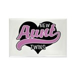 New Aunt Twins Rectangle Magnet (10 pack)