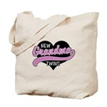 New Grandma Twins Tote Bag