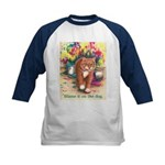 Blame it on the Dog Kids Baseball Jersey