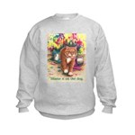 Blame it on the Dog Kids Sweatshirt