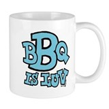 BBQ is Luv Small Mug