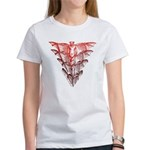 Bat Red Women's T-Shirt