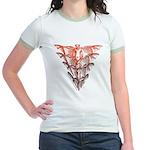 Bat Red Jr. Ringer T-Shirt