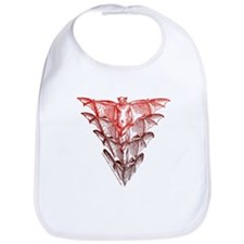 Bat Red Bib