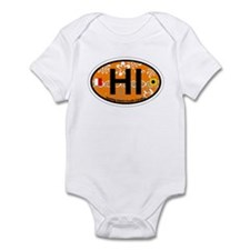 Hunting Island - Oval Design Infant Bodysuit