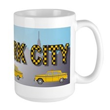 Unique New york taxi Mug