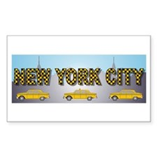 Cute New york streets Decal