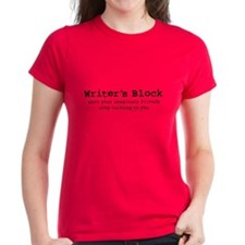 Writer's Block Women's T (dark)