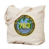 USS WILLIAM C. LAWE Tote Bag