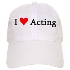 I Love Acting Baseball Cap