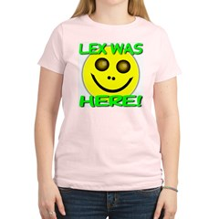 Lex Was Here Women's Light T-Shirt