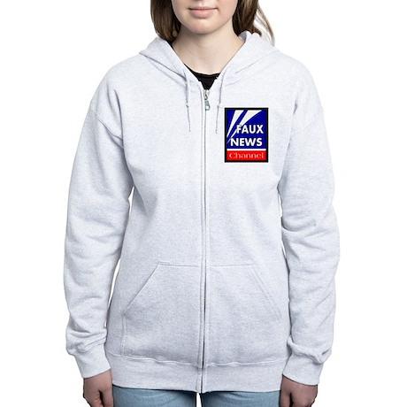 Faux News Women's Zip Hoodie