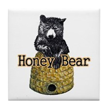 Honey Bear Tile Coaster