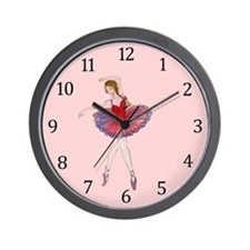 Ballerina-latida Wall Clock