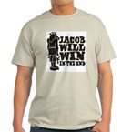 Jacob Will Win Light T-Shirt