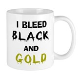 I Bleed Black and Gold Mug