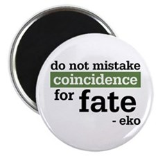 "Lost Mr. Eko Quote 2.25"" Magnet (10 pack)"