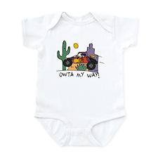 Fidget Desert Racer Infant Bodysuit