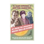 Doctor Fabulous Mini Poster Print