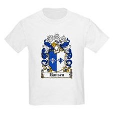 Hansen Coat of Arms Kids T-Shirt