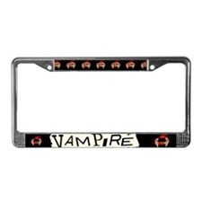 Vampire Punk License Plate Frame