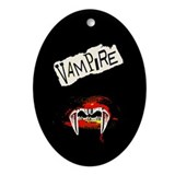 Vampire Punk Ornament (Oval)